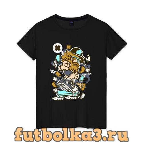 Футболка Самокат женская
