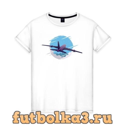 Футболка Самолет жен�ка�