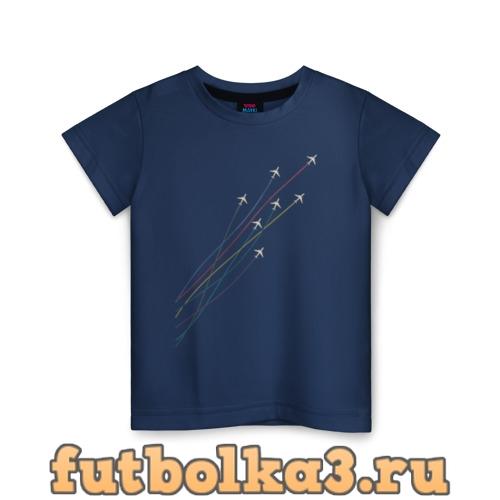 Футболка Самолеты детская