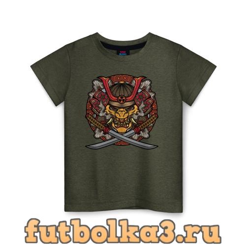 Футболка Самурай детская