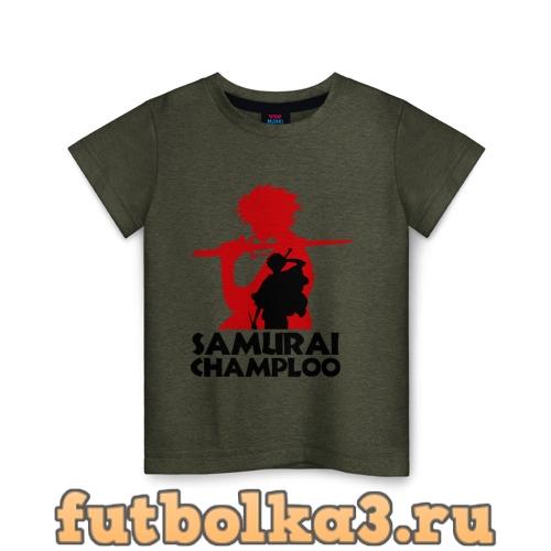 Футболка Самурай Champloo детская