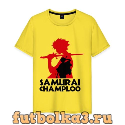 Футболка Самурай Champloo мужская