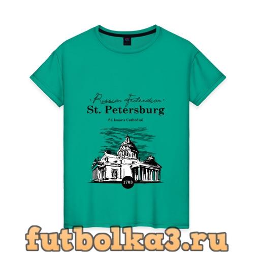 Футболка Санкт-Петербург женская
