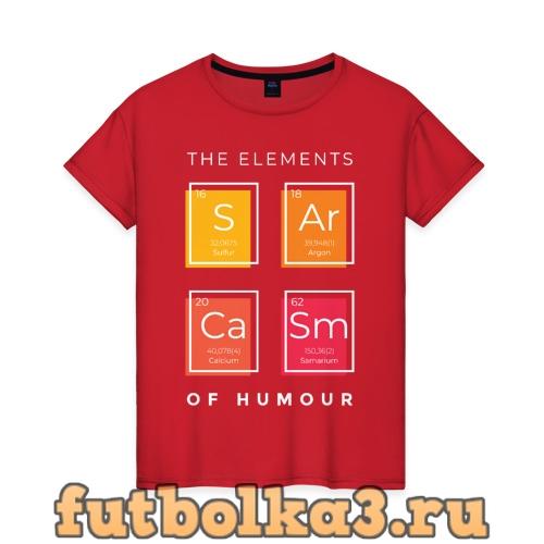 Футболка Сарказм женская