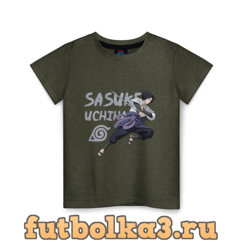 Футболка Саске Учиха детская