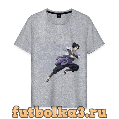 Футболка Саске Учиха мужская