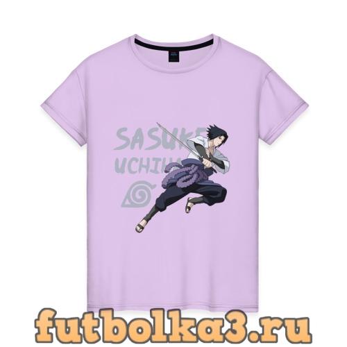 Футболка Саске Учиха женская