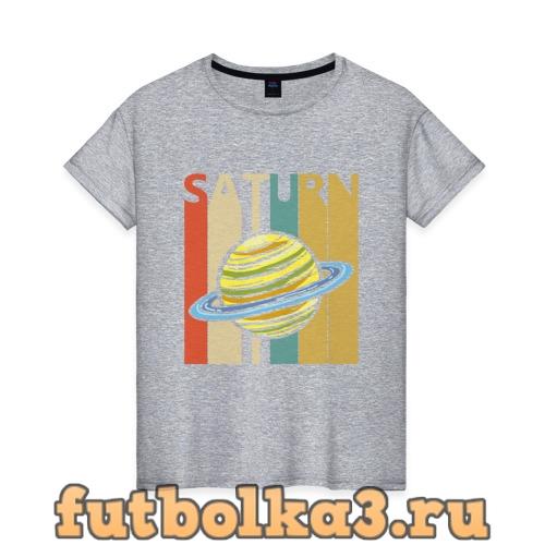 Футболка Сатурн женская