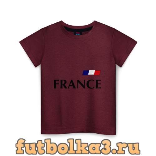 Футболка Сборная Франции - Бензима 10 (Benzima) детская