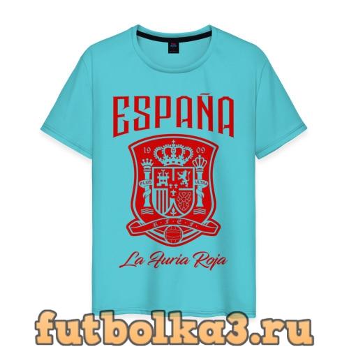 Футболка Сборная Испани мужская