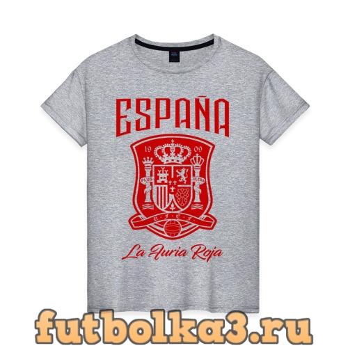 Футболка Сборная Испани женская