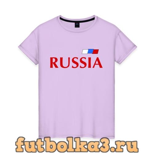 Футболка Сборная России - 9 женская