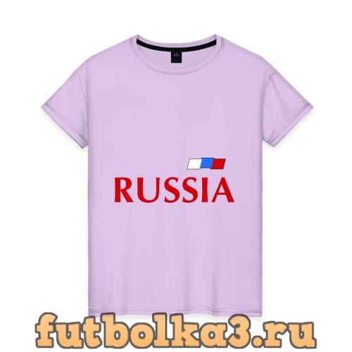 Футболка Сборная России - Андрей Аршавин 10 (Arshavin) женская