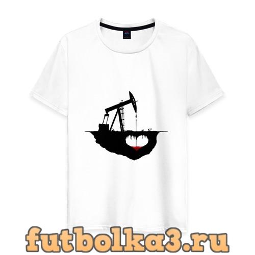 Футболка Сердце земли мужская