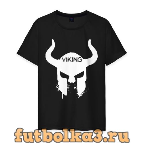 Футболка Шлем викинга мужская