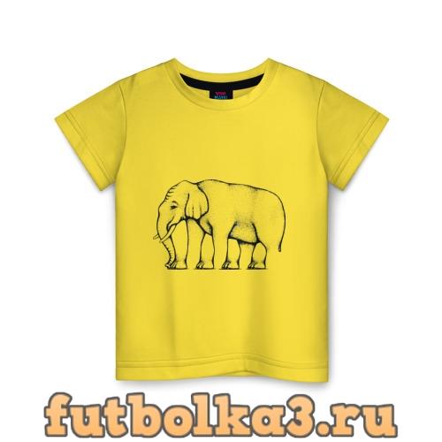 Футболка Сколько ног у слона детская