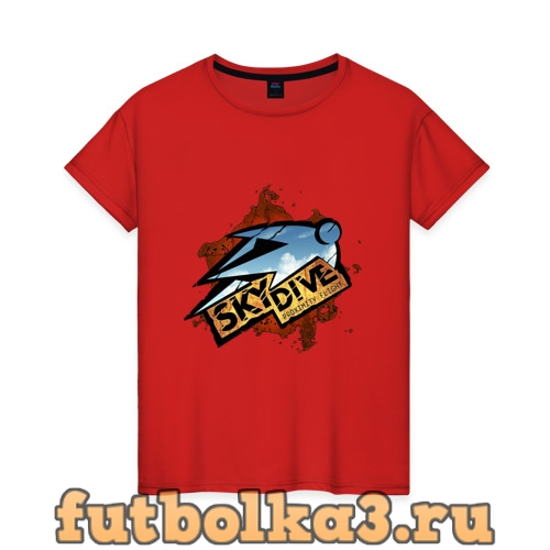 Футболка Skydive женская