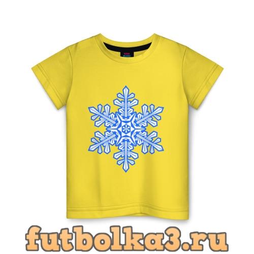 Футболка Снежинка детская