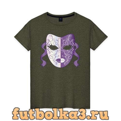 Футболка Театральная маска женская