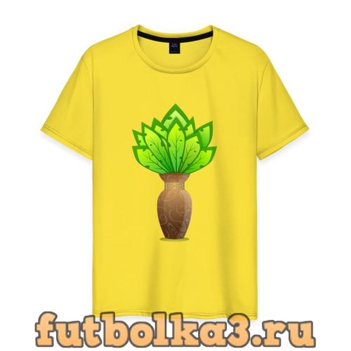 Футболка Цветы мужская