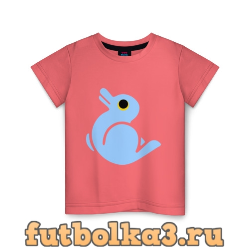 Футболка Утка или заяц детская