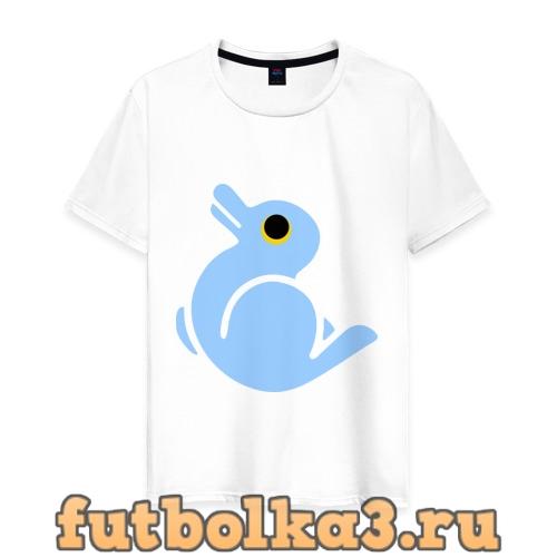 Футболка Утка или заяц мужская