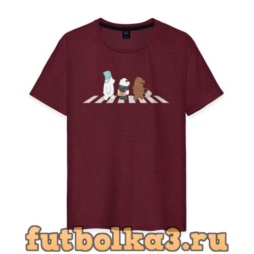 Футболка Вся правда о медведях мужская